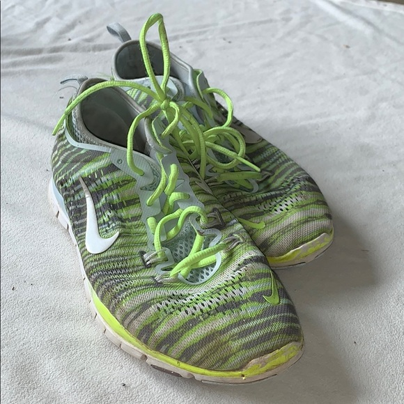 Nike Shoes | Bright Green And Yellow
